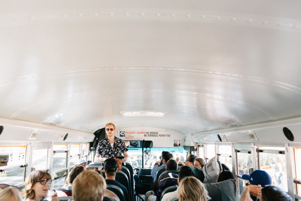 School Bus Wedding